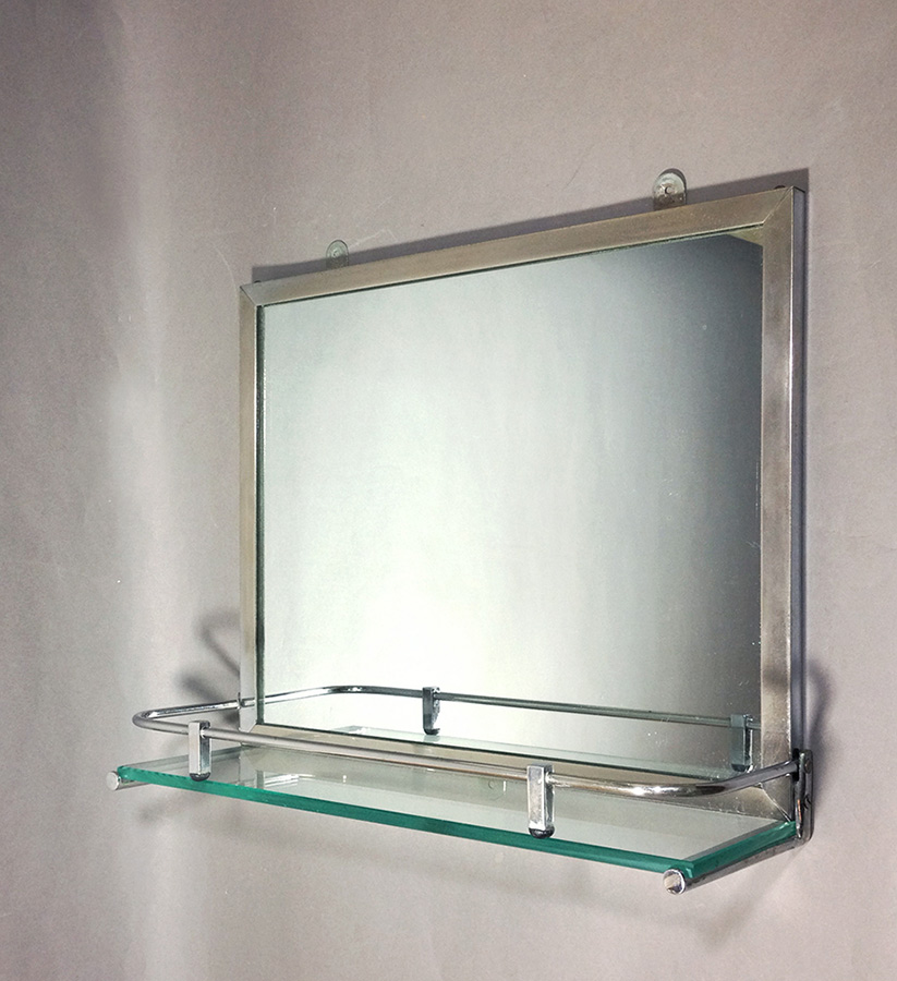 "Art Déco Bathroom ""Mirror&Shelf"""