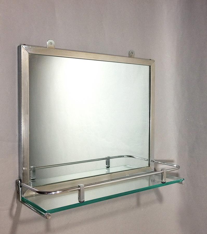 "Bathroom Art Deco Mirrors: ★Art Déco Bathroom ""Mirror&Shelf""★"