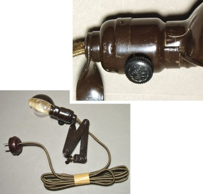 "画像1: 1940's G.E. ""mini"" Task Lamp【Dead-Stock】"