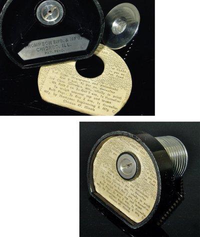 画像2: 1940-50's Paper Weight&Postal Scale【BLACK×SILVER】