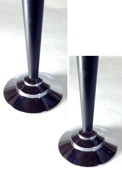 """画像1: 1930's """"The Dura Co."""" Bud Vase【BLACK】"""