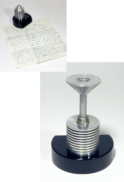 画像1: 1940-50's Paper Weight&Postal Scale【BLACK×SILVER】