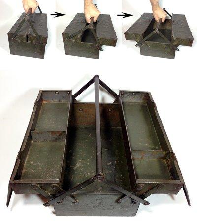"画像2: 1930-early 40's ""DUPLEX"" Tool Box"