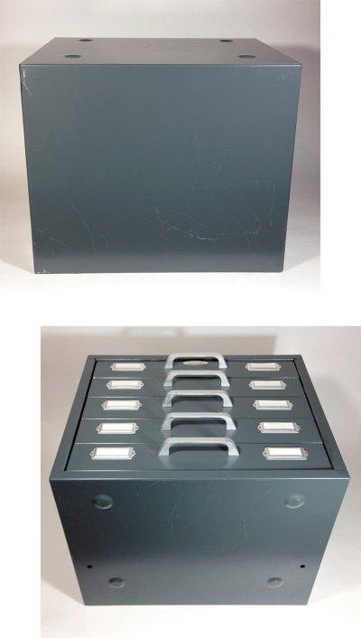 """画像3: 1960-70's """"Neumade"""" 5-Drawer Cabinet【特大】"""