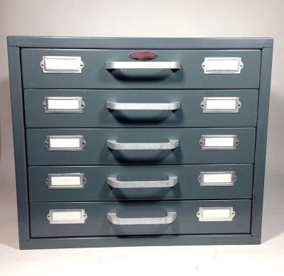 """画像1: 1960-70's """"Neumade"""" 5-Drawer Cabinet【特大】"""