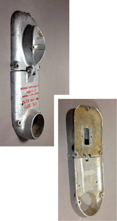 画像1:  Cast Aluminum Switch Cover