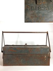 "画像5: 1930-early 40's【Snap-on】Tool Box  ""大型"" (5)"