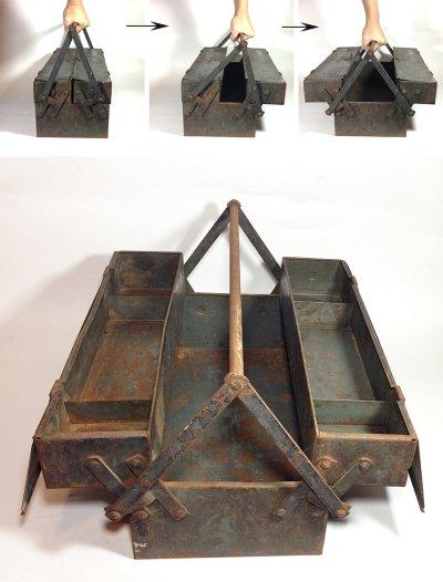"画像1: 1930-early 40's【Snap-on】Tool Box  ""大型"""