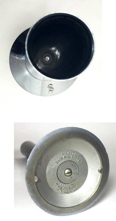 """画像3: 1930's """"The Dura Co."""" Bud Vase【BLACK】"""