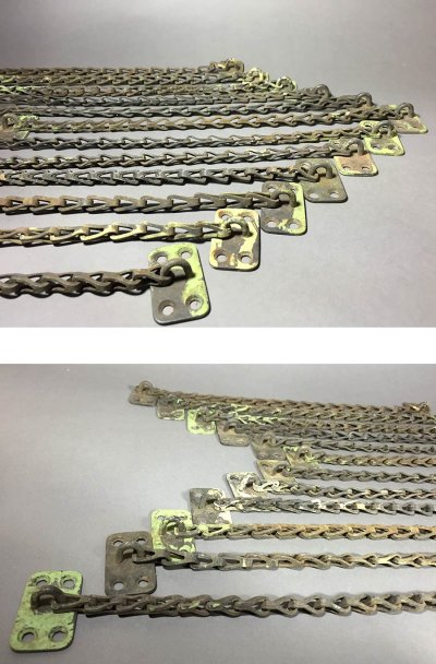"画像1: 1940's ""Transom window"" Stop Chain"