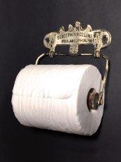 """画像3: PAT.1891 """"GEM"""" Cast Iron Toilet Paper Holder【Scott Paper Co.】 (3)"""