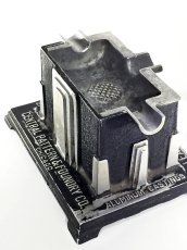 "画像1: 1920-30's Art Deco ""SKYSCRAPER"" Cast Aluminum Ashtray (1)"