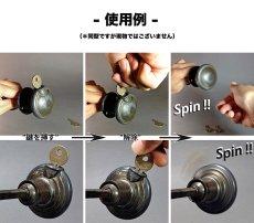 """画像11: 【Spin-Lock !!】1910-30's """"Oddball"""" Door Knob  (11)"""