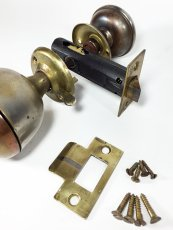 画像9:  Early-1900's【BELL】built-in Bell Doorknob  (9)