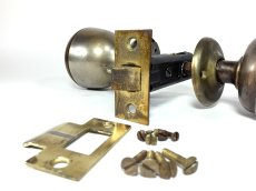 画像10:  Early-1900's【BELL】built-in Bell Doorknob  (10)
