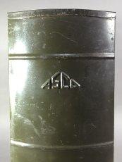 """画像3: 1930's """"ASCO N.Y."""" Steel File Box【 FAT !! 】 (3)"""