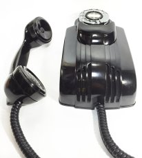 "画像6: - 実働品 - 1930's ""Very!! Art Deco"" Streamlined Bakelite Telephone (6)"