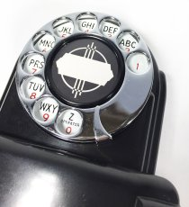 "画像9: - 実働品 - 1930's ""Very!! Art Deco"" Streamlined Bakelite Telephone (9)"