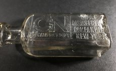 "画像3: 1910-20's ""West Disinfecting Co. N.Y."" Glass Bottle (3)"