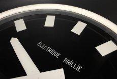 """画像7: 1950-60's """"Brillié"""" French Wall Clock  【特大!です】 (7)"""