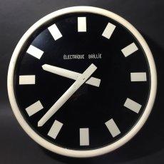 """画像1: 1950-60's """"Brillié"""" French Wall Clock  【特大!です】 (1)"""