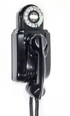 "画像3: - 実働品 - 1930's ""Very!! Art Deco"" Streamlined Bakelite Telephone (3)"