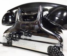 画像14: - 実働品 - Early 1950's U.S.ARMY Chromed Telephone 【BLACK × SILVER】 (14)