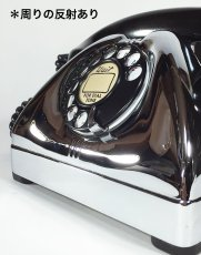 画像3: - 実働品 - Early 1950's U.S.ARMY Chromed Telephone 【BLACK × SILVER】 (3)
