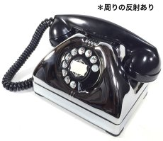 画像6: - 実働品 - Early 1950's U.S.ARMY Chromed Telephone 【BLACK × SILVER】 (6)