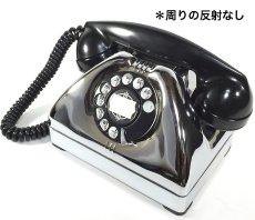 画像5: - 実働品 - Early 1950's U.S.ARMY Chromed Telephone 【BLACK × SILVER】 (5)