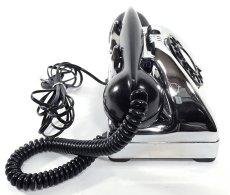 画像10: - 実働品 - Early 1950's U.S.ARMY Chromed Telephone 【BLACK × SILVER】 (10)