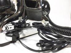 画像15: - 実働品 - Early 1950's U.S.ARMY Chromed Telephone 【BLACK × SILVER】 (15)
