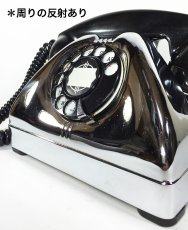 画像3: - 実働品 - Early 1950's U.S.ARMY Chromed Telephone 【BLACK × SILVER】 (3)