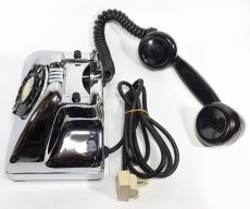画像18: - 実働品 - Early 1950's U.S.ARMY Chromed Telephone 【BLACK × SILVER】 (18)