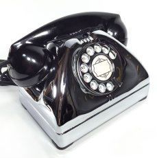 画像9: - 実働品 - Early 1950's U.S.ARMY Chromed Telephone 【BLACK × SILVER】 (9)