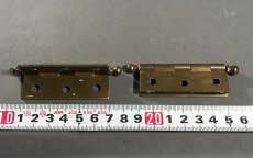 "画像5: 1920-30's ""Ball Tip"" Cabinet Hinges (5)"