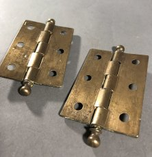 "画像3: 1920-30's ""Ball Tip"" Cabinet Hinges (3)"