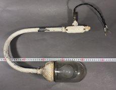 """画像6: 1940's """"Globe Glass"""" Grage or Gas Station Light (6)"""