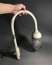 """画像10: 1940's """"Globe Glass"""" Grage or Gas Station Light (10)"""