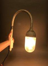 """画像5: 1940's """"Globe Glass"""" Grage or Gas Station Light (5)"""