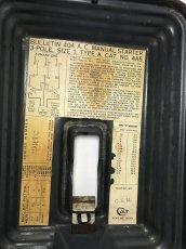 """画像5: 【ちょ〜特大 !! 】 1930's """"COLT"""" Wall Mount Switch Box (5)"""