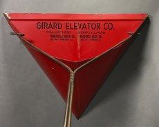 画像2: 1930-40's【GIRARD ELEVATOR CO.】 Advertising Dust Pan (2)