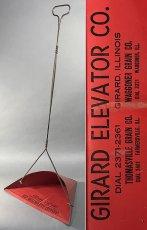 画像1: 1930-40's【GIRARD ELEVATOR CO.】 Advertising Dust Pan (1)