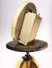 """画像3: 1920-30's Old German """"Shabby"""" Country Clock (3)"""