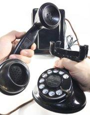 画像4: - 実働品 - 1920's 【Western Electric】Telephone with Ringer Box (4)