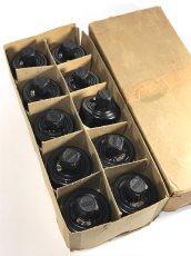 """画像3: -*残り3個*- 1920-30's """"BLACK×WHITE"""" Porcelain Rotary Switch 【Dead-Stock】  (3)"""