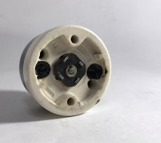 """画像4: -*残り3個*- 1920-30's """"BLACK×WHITE"""" Porcelain Rotary Switch 【Dead-Stock】  (4)"""