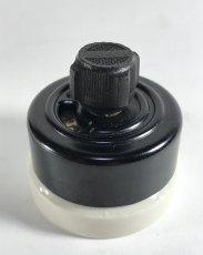 """画像2: -*残り3個*- 1920-30's """"BLACK×WHITE"""" Porcelain Rotary Switch 【Dead-Stock】  (2)"""