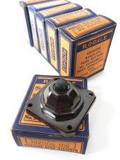 画像1: -*残り3個*- 1930's Bakelite Bell Switch【DEAD-STOCK】 (1)