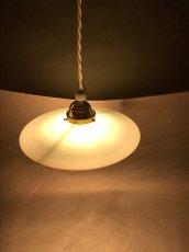 """画像4: German-Deco """"Milk Glass"""" Pendant Lamp (4)"""